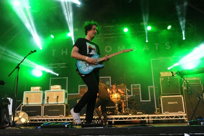 Coventry Telegraph: The Wombats close second day of Godiva Festival
