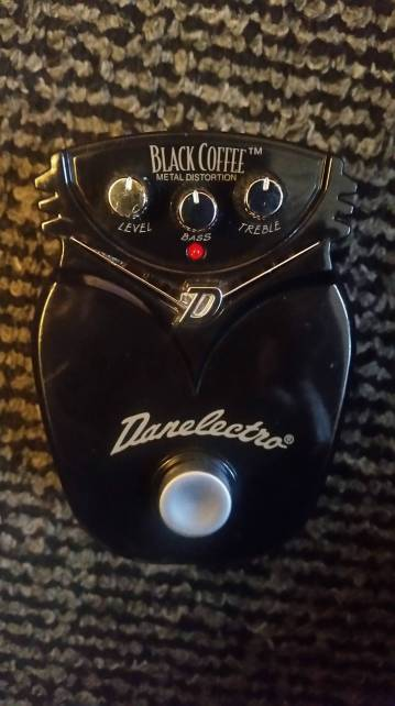 Danelectro Black Coffee Mini 2
