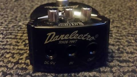 Danelectro Black Coffee Mini 4